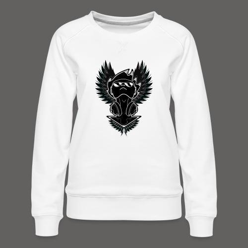 Winged Dj - Women's Premium Sweatshirt