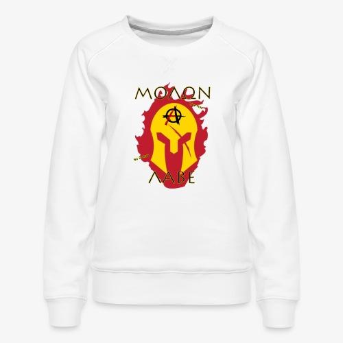 Molon Labe - Anarchist's Edition - Women's Premium Slim Fit Sweatshirt