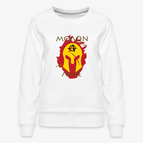 Molon Labe - Anarchist's Edition - Women's Premium Sweatshirt