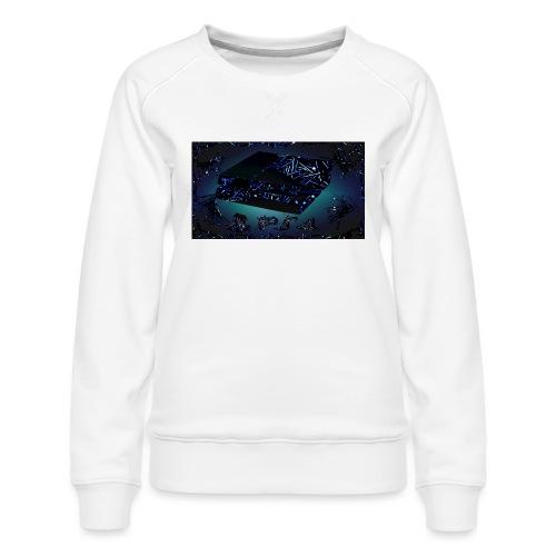 ps4 back grownd - Women's Premium Sweatshirt