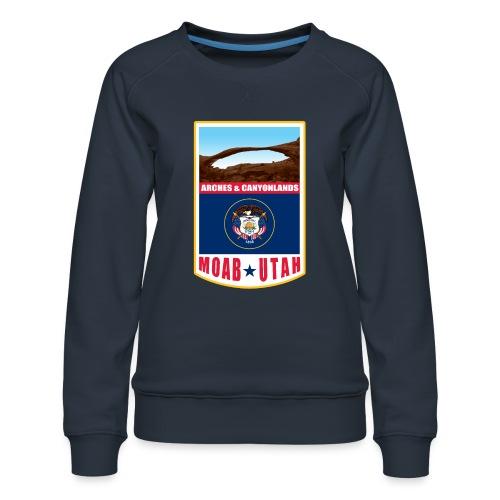 Utah - Moab, Arches & Canyonlands - Women's Premium Sweatshirt