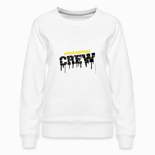 saskhoodz crew - Women's Premium Sweatshirt