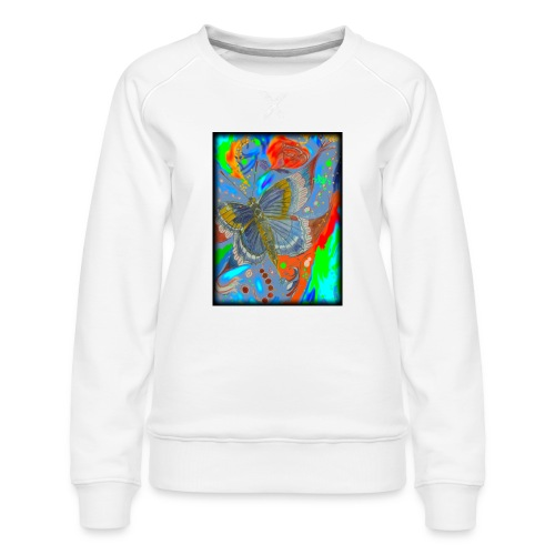 Butterfly - Women's Premium Sweatshirt