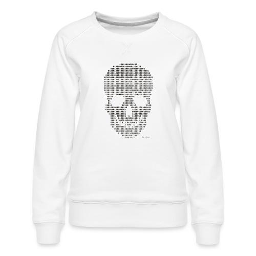 Hacker binary - Mens - Women's Premium Sweatshirt