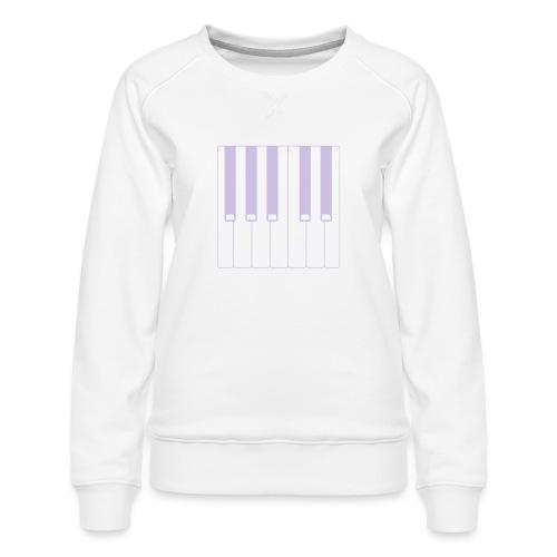 Piano - Women's Premium Sweatshirt