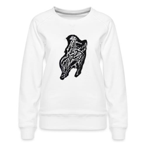Cowboy - Women's Premium Sweatshirt