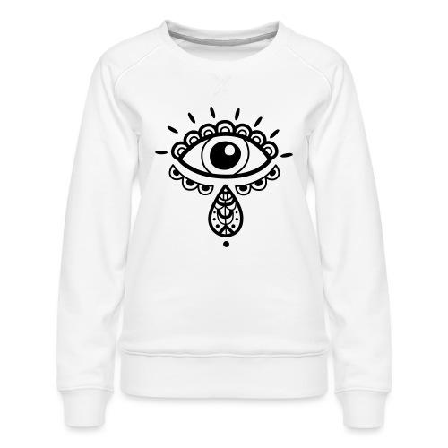 Cosmos 'Teardrop' - Women's Premium Sweatshirt