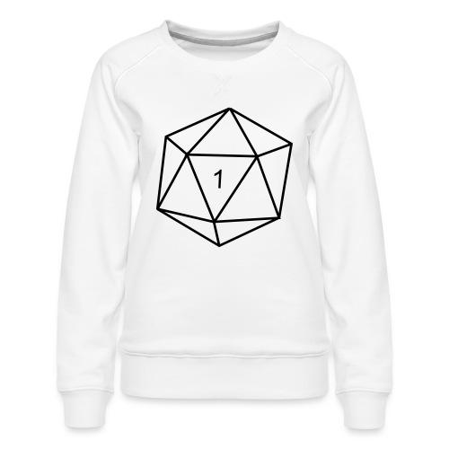 d20 - 1 - Women's Premium Sweatshirt