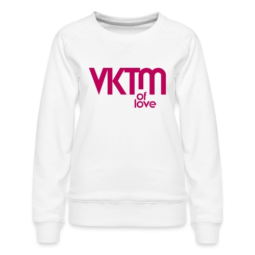 victim of love - Women's Premium Sweatshirt