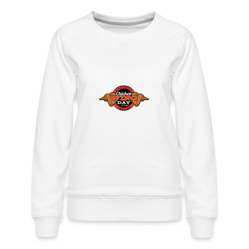 Chicken Wing Day - Women's Premium Sweatshirt