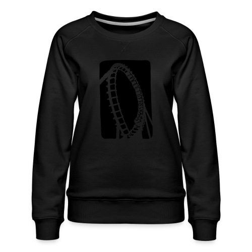 Roller Coaster - Women's Premium Sweatshirt