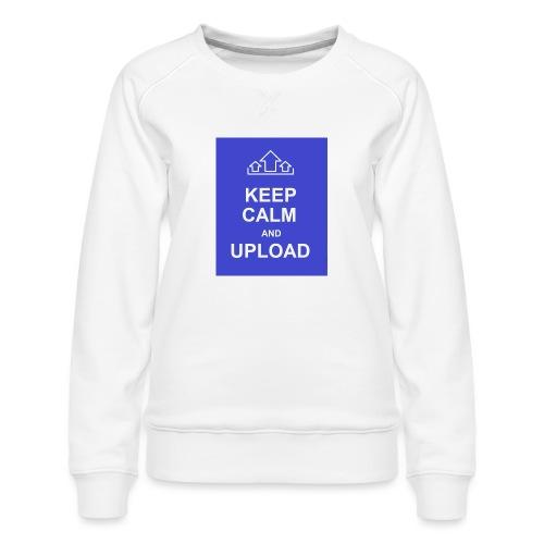RockoWear Keep Calm - Women's Premium Sweatshirt