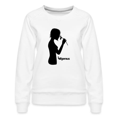 flower girl - Women's Premium Sweatshirt