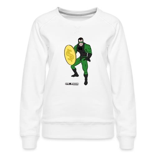 Superhero 4 - Women's Premium Sweatshirt