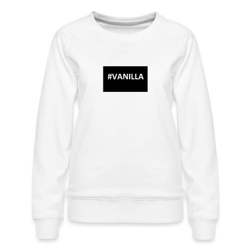 Vanilla - Women's Premium Sweatshirt