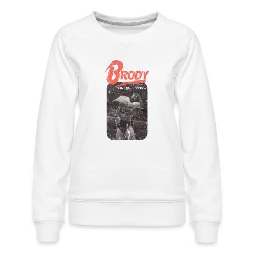 Bruiser Brody Slam - Women's Premium Sweatshirt