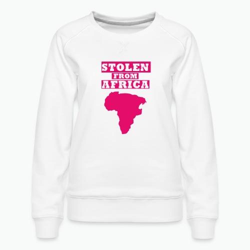 SFA LOGO FUSCHIA - Women's Premium Sweatshirt