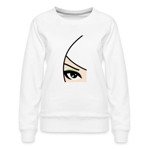 Banzai Chicks Single Eye Women's T-shirt - Women's Premium Sweatshirt