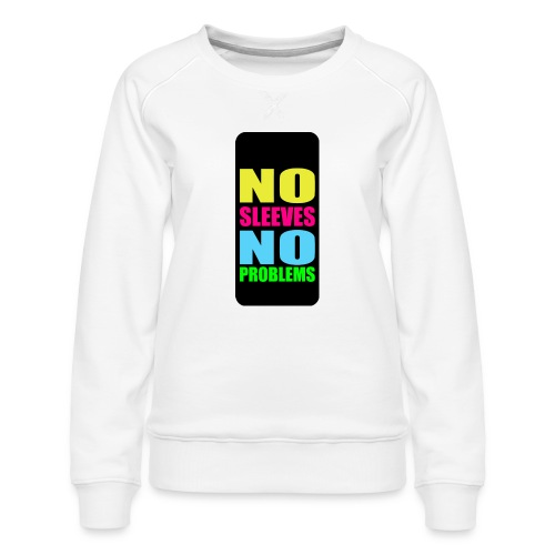 neonnosleevesiphone5 - Women's Premium Sweatshirt