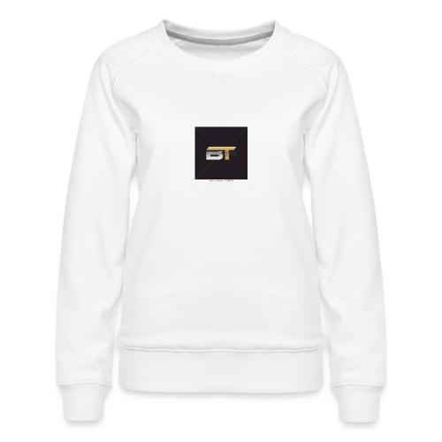BT logo golden - Women's Premium Sweatshirt