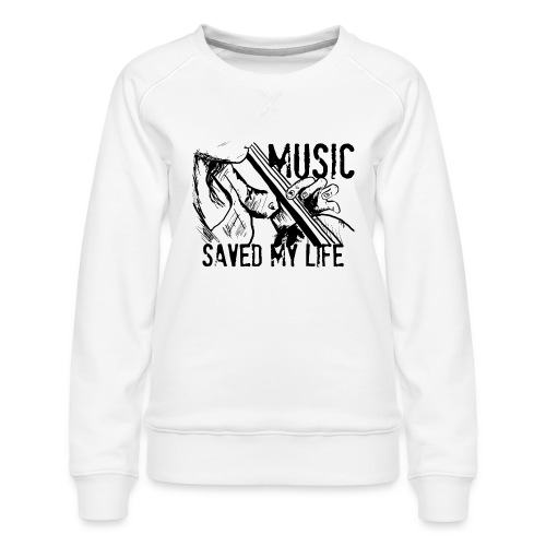 music is live - Women's Premium Sweatshirt