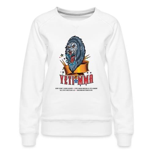 YETI MMA Never Quit 2020 Fundraiser - Women's Premium Sweatshirt