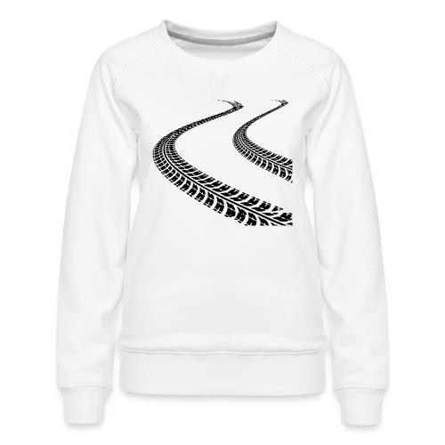 Cone Killer Women's T-Shirts - Women's Premium Slim Fit Sweatshirt