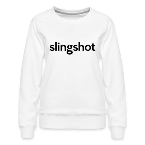 SlingShot Logo - Women's Premium Sweatshirt