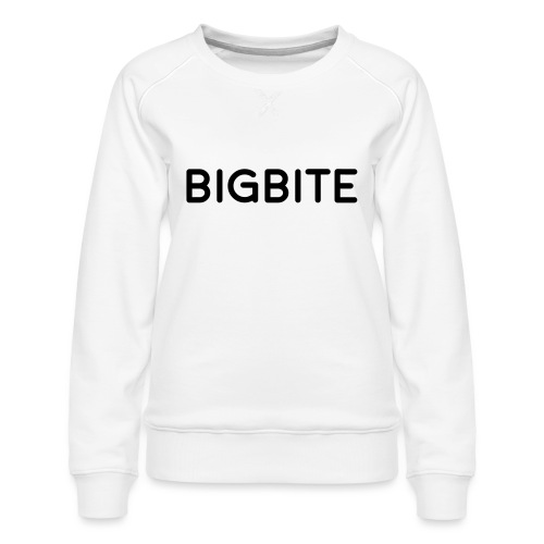 BIGBITE logo red (USE) - Women's Premium Sweatshirt
