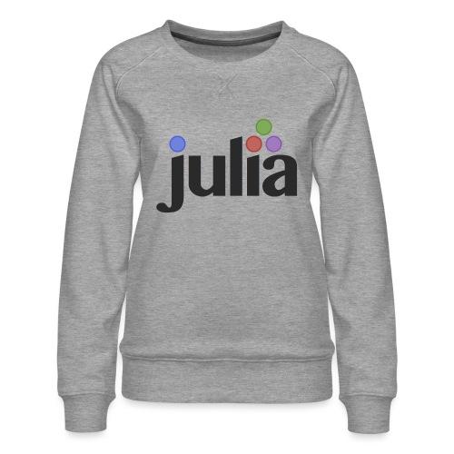 Official Julia Logo - Women's Premium Sweatshirt