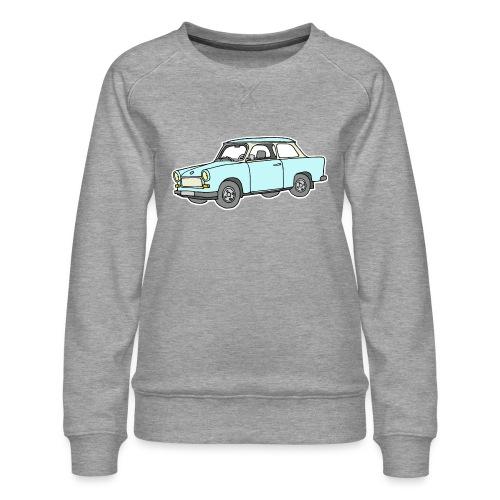 Trabant (lightblue) - Women's Premium Slim Fit Sweatshirt