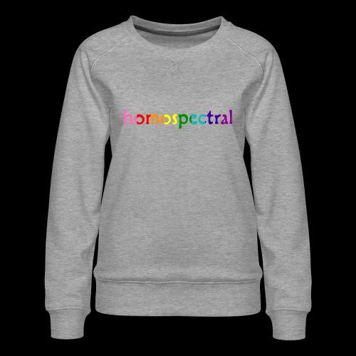 homospectral - Women's Premium Sweatshirt