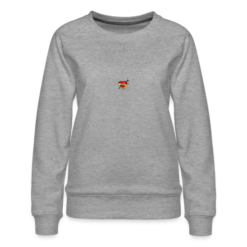 i love mom - Women's Premium Sweatshirt