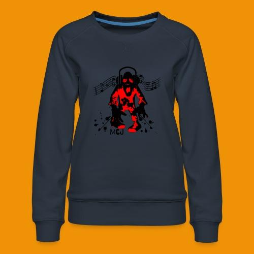 Music Zombie - Women's Premium Sweatshirt