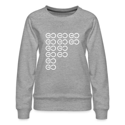 GOGOGO single colour - Women's Premium Sweatshirt