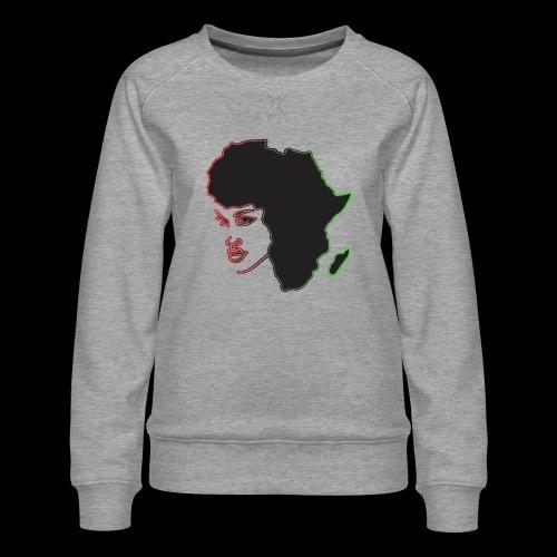 Afrika is Woman - Women's Premium Sweatshirt