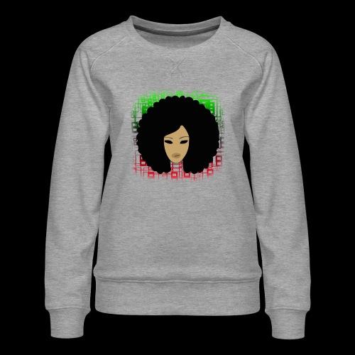 Afromatrix - Women's Premium Sweatshirt