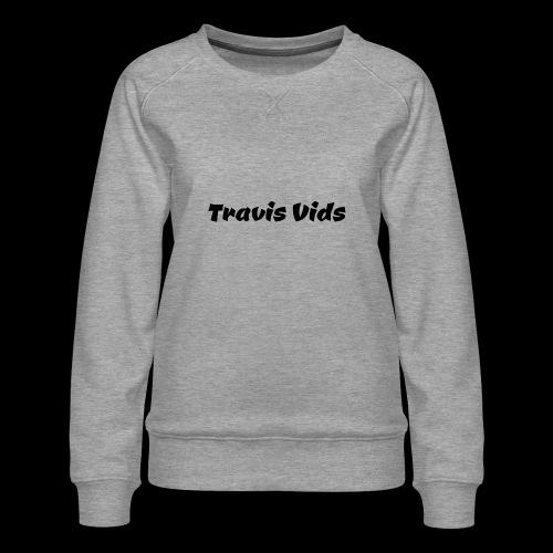 White shirt - Women's Premium Sweatshirt