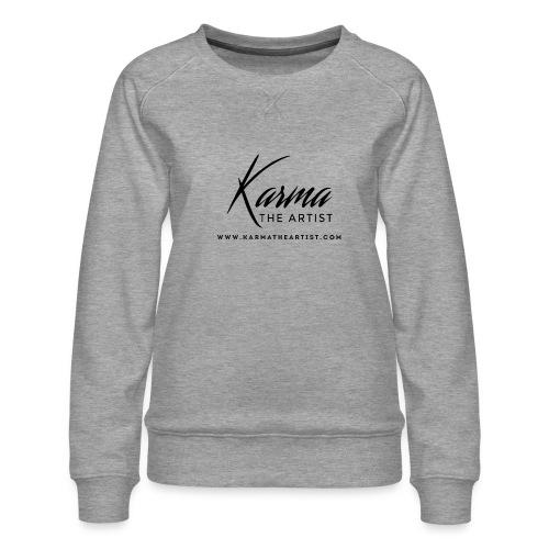 Karma - Women's Premium Slim Fit Sweatshirt