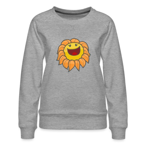 Happy sunflower - Women's Premium Sweatshirt