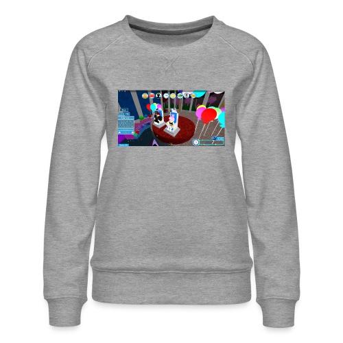 prom queen - Women's Premium Slim Fit Sweatshirt