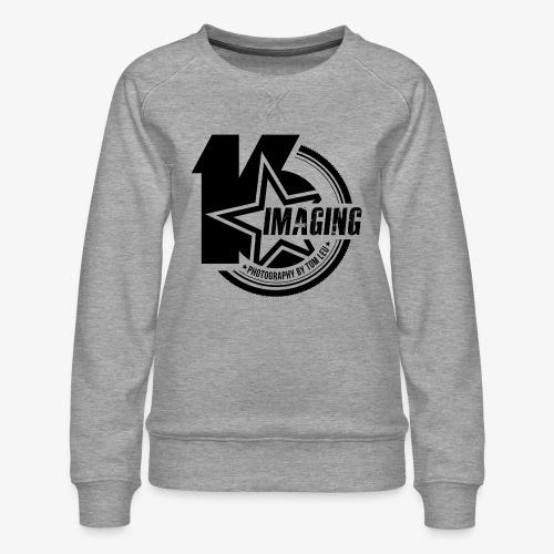 16IMAGING Badge Black - Women's Premium Sweatshirt