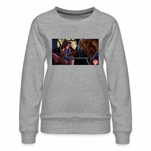 Anime Demon Hunter - Women's Premium Sweatshirt