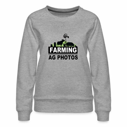 Farming Ag Photos - Women's Premium Sweatshirt