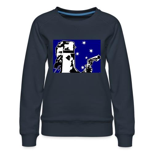 NED KELLY - Women's Premium Sweatshirt