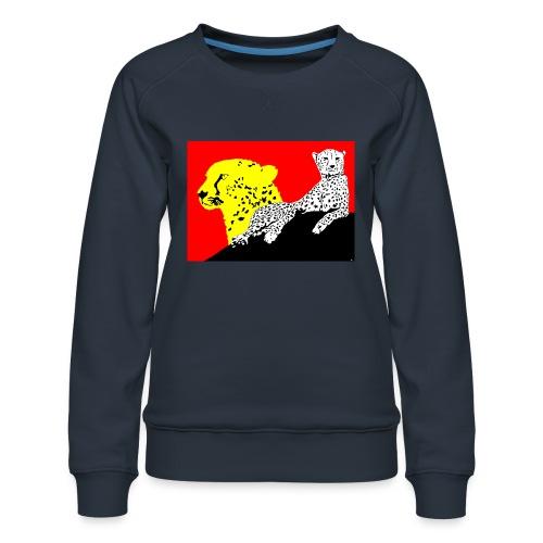 CHEETAH - Women's Premium Sweatshirt