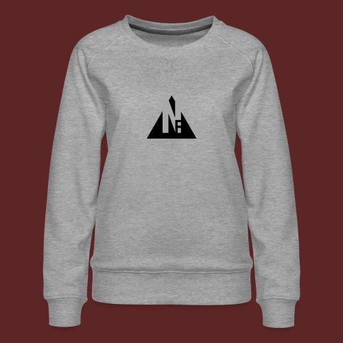 Basic NF Logo - Women's Premium Sweatshirt