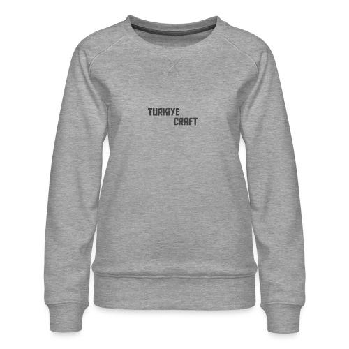 TurkiyeCrafts Solid Logo - Women's Premium Sweatshirt