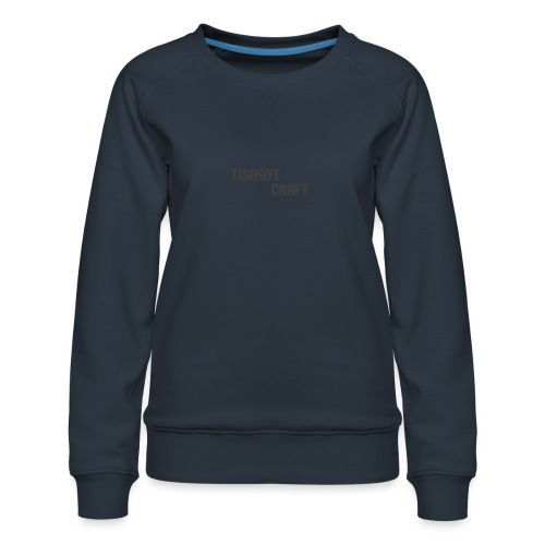 TurkiyeCrafts Solid Logo - Women's Premium Sweatshirt