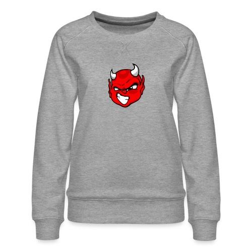 Rebelleart devil - Women's Premium Slim Fit Sweatshirt